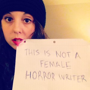 This is Not a Female Horror Writer-1